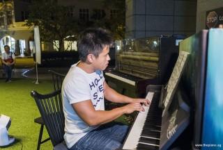 Pianovers Meetup #60, Edward Loh performing