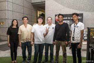 Pianovers Meetup #60, Tabitha Gan, Chris Khoo, Jimmy Chong, Sng Yong Meng, Peter Prem, and Joshua Peter
