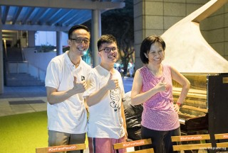 Pianovers Meetup #61, Teik Lee, Zhi Yuan, and May Ling
