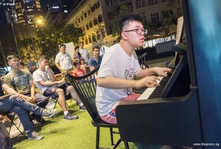 Pianovers Meetup #61, Zhi Yuan performing