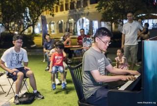 Pianovers Meetup #61, Heng Loong performing