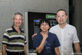 Pianovers Meetup #61, Albert, Siew Tin, and Yong Meng