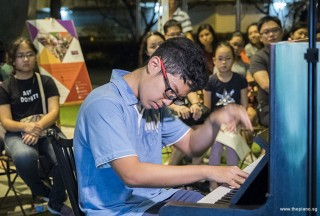 Pianovers Meetup #62, Yuchen performing