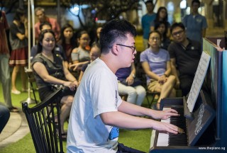 Pianovers Meetup #62, Zhi Yuan performing