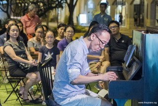 Pianovers Meetup #62, Teik Lee performing