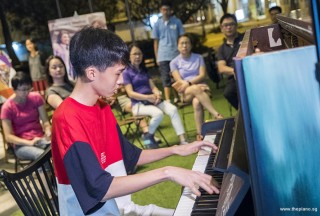 Pianovers Meetup #62, Victor Tan performing