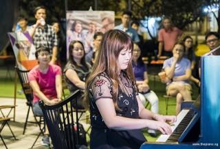 Pianovers Meetup #62, Kaori Tanabe performing