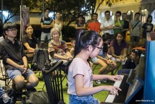 Pianovers Meetup #63, Daphne Puk Jia Xuan performing