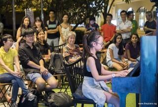 Pianovers Meetup #63, Nathania Chan Shi Ting performing