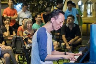 Pianovers Meetup #63, Teik Lee performing