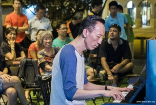 Pianovers Meetup #63, Teik Lee performing