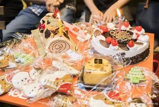 Pianovers Meetup #63, Log cake, and Birthday cake