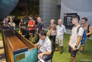 Pianovers Meetup #63, Jaeyong, and Chris playing