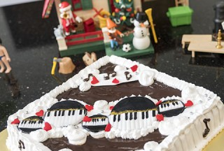 Pianovers Meetup #64, Piano cake made by Winny