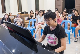 Pianovers Meetup #64, Siew Tin performing