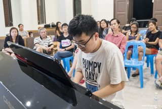 Pianovers Meetup #64, Zhi Yuan performing for us