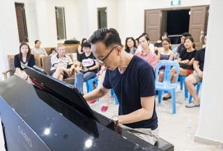 Pianovers Meetup #64, Teik Lee performing