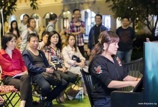 Pianovers Meetup #65, Jia Hui performing