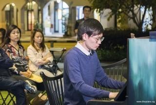 Pianovers Meetup #65, Herman Ho performing