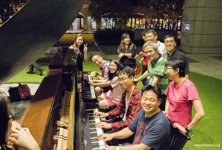Pianovers Meetup #65, Jamming group picture