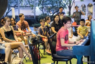Pianovers Meetup #66, Siew Tin performing