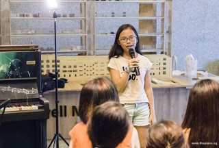Pianovers Meetup #67, Giselle sharing with us