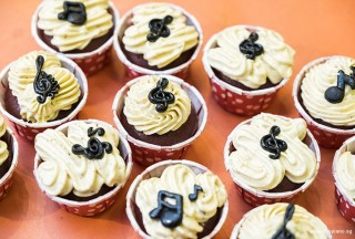 Pianovers Meetup #67, Piano themed Cupcakes