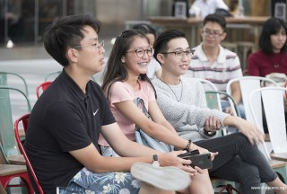 Pianovers Meetup #68 (Tanjong Pagar Centre), Phil, Sabrina, and Yew Siang