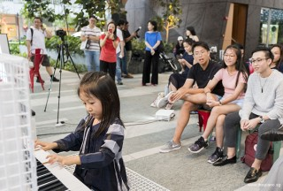 Pianovers Meetup #68 (Tanjong Pagar Centre), Gwen performing for us