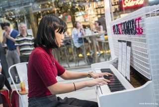 Pianovers Meetup #68 (Tanjong Pagar Centre), Lenice performing