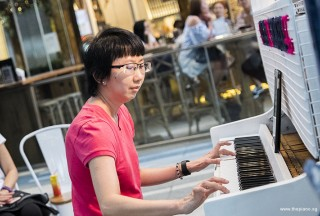 Pianovers Meetup #68 (Tanjong Pagar Centre), Siew Tin performing
