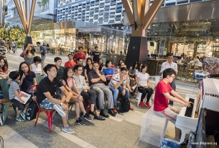 Pianovers Meetup #68 (Tanjong Pagar Centre), Zhi Yuan performing
