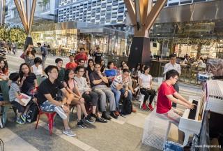 Pianovers Meetup #68 (Tanjong Pagar Centre), Zhi Yuan performing