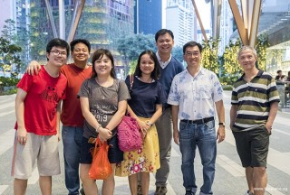 Pianovers Meetup #68 (Tanjong Pagar Centre), Zhi Yuan, Gee Yong, Jia Hui, Audrey, Zensen, Chris, and Albert