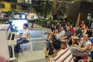 Pianovers Meetup #68 (Tanjong Pagar Centre), Chris performing