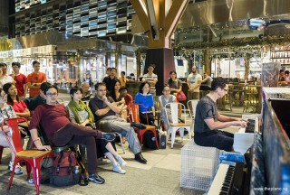 Pianovers Meetup #68 (Tanjong Pagar Centre), David performing