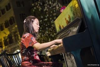 Pianovers Meetup #69, Jenny performing