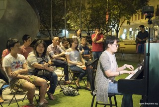 Pianovers Meetup #69, Grace Wong performing