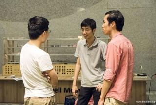 Pianovers Meetup #69, Jeremy, Jonathan, and Wayne