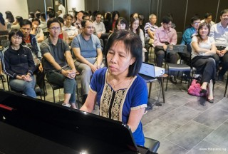 Pianovers Meetup #70, May Ling performing
