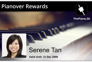 Pianovers, Pianovers Rewards