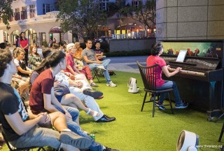Pianovers Meetup #71, Siew Tin performing