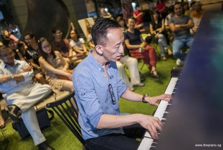 Pianovers Meetup #71, Teik Lee performing