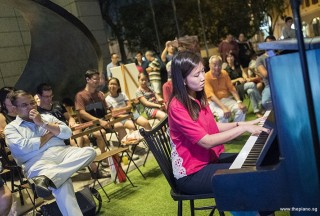 Pianovers Meetup #71, Jinci performing