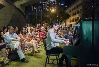 Pianovers Meetup #71, Herman Ho performing