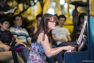Pianovers Meetup #72, Corrine performing