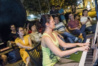 Pianovers Meetup #72, Delaram Abedi performing
