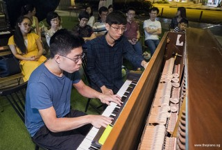 Pianovers Meetup #72, Jeremy Foo performing