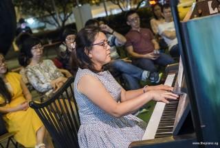 Pianovers Meetup #72, Woan Ling performing