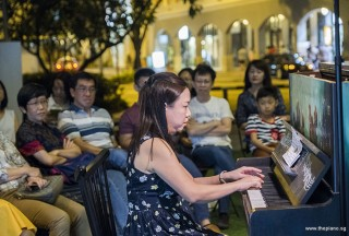 Pianovers Meetup #72, Jenny Soh performing